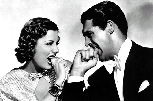 Dunne and Grant in awful truth