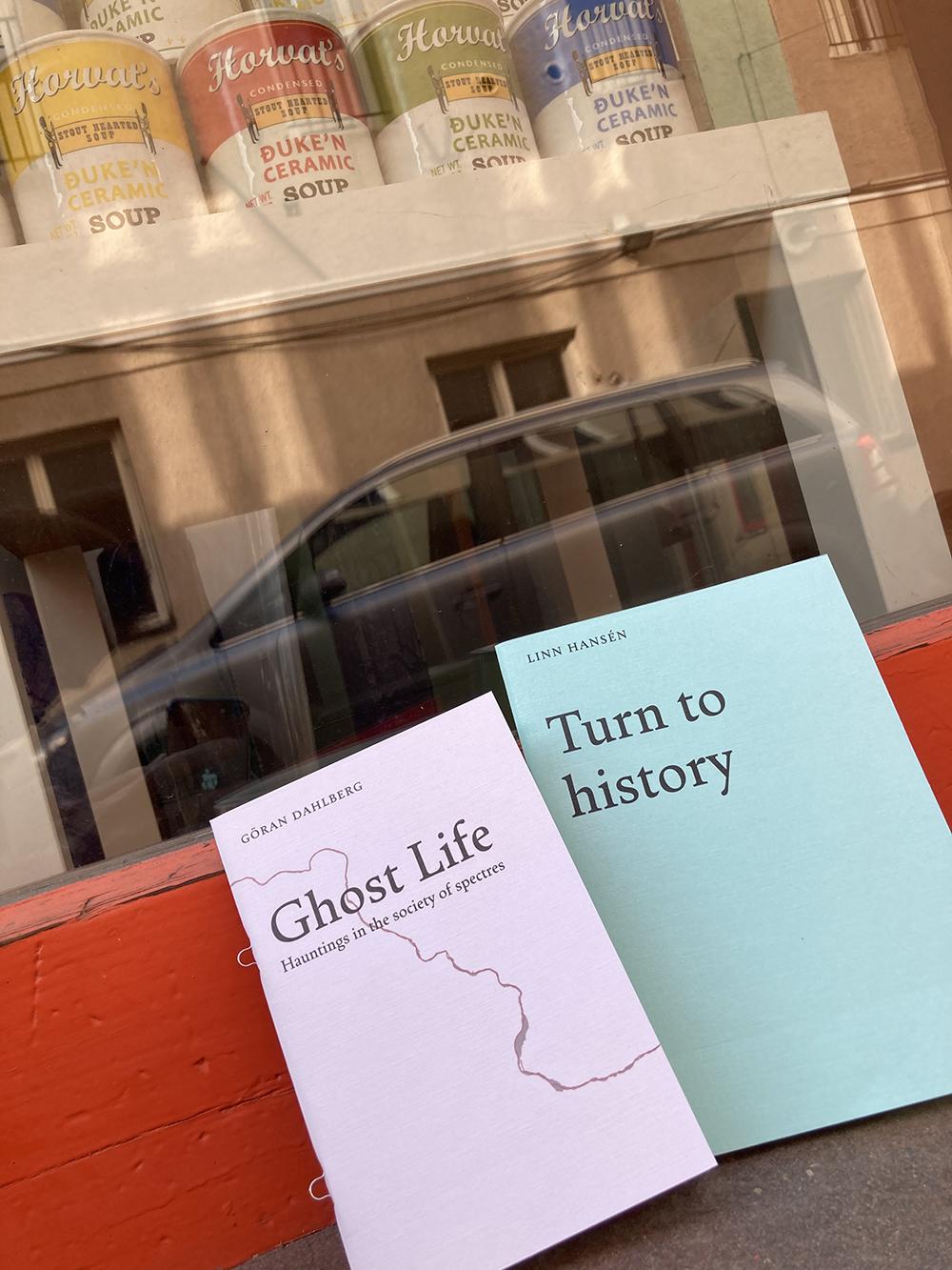 Linn Hansén • Turn to history ||  Göran Dahlberg • Ghost Life